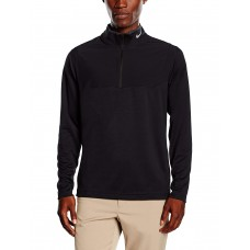Nike Men's Dri-Fit 1/2 Zip Jumper Top, Суитшърт с цип, Черен, L