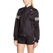 Дамско яке Adidas Women's Response Wind Jacket Women,черно/бяло,S