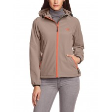 Дамско яке Ultrasport  Softshell Estelle mit Ultraflow 5.000,L,Сив/Оранжев